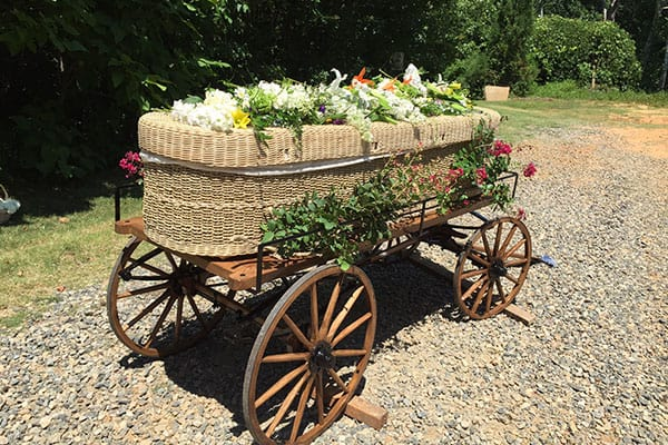 green burial funeral services