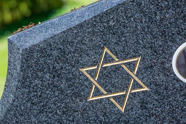 jewish headstone funeral raleigh