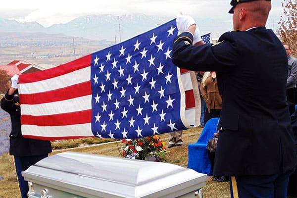 veteran burial