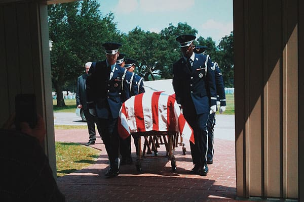 veteran funeral honor guard