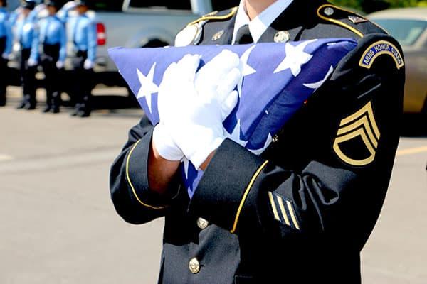 veteran funeral memorial