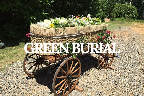 north carolina green burial