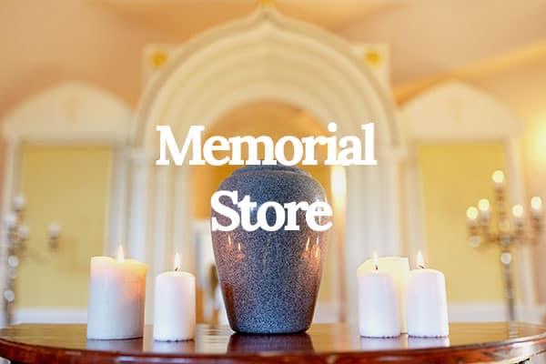 funeral memorial store urns